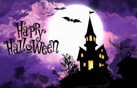 Открытки с Хэллоуином 2019: картинки с поздравлениями