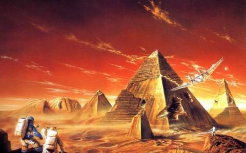 На Марсе нашли город с десятками древних пирамид