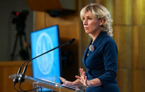 Захарову шокировал ответ МИД Франции на случаи неонацизма на Украине