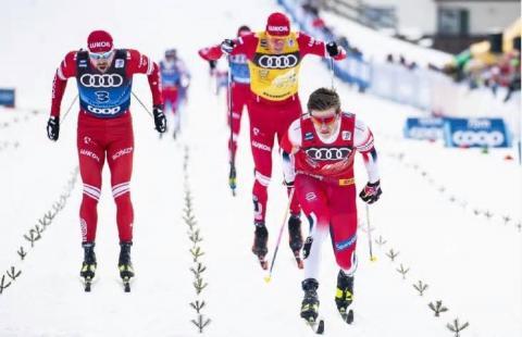 Российские лыжники сокрушили норвежцев на «Тур де Ски»