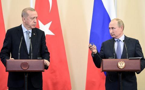 В Кремле отвергли идею о сделке с Турцией по Крыму