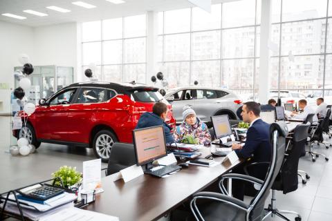 Автосалон Россия покупка машины