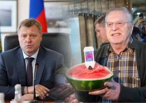 Бабушкин и Жириновский