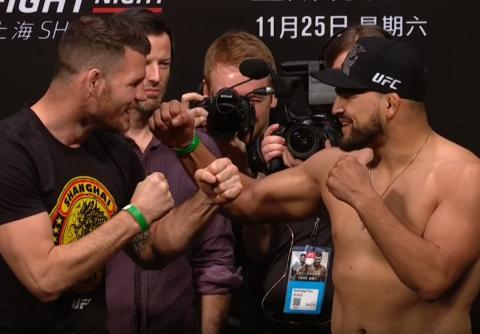 Турнир UFC Fight Night 122 в Шанхае 25 ноября: кард, когда – время, бой Биспинг – Гастелум, где смотреть прямую трансляцию
