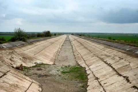 Блокада Северо-Крымского канала