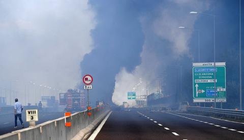 В Болонье бензовоз устроил серию взрывов: попали в больницу 84 человека