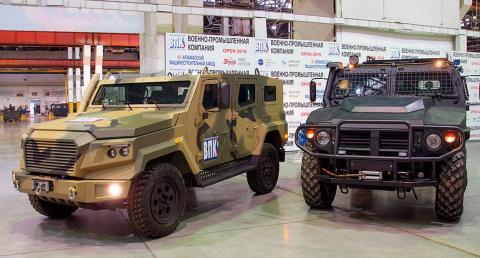 В России на базе броневика «Стрела» создадут «русский Land Cruiser»