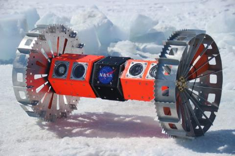 NASA испытали инопланетный робот подо льдами Антарктиды