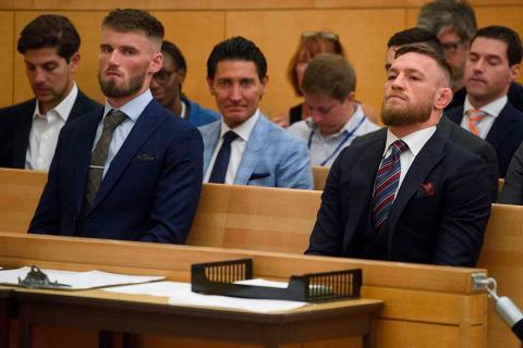 Конор Макгрегор будет наказан за нападение на автобус с бойцами UFC