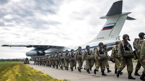 десант РФ отправится в нагорный Карабах