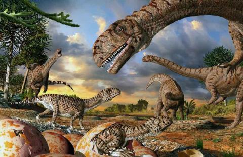 Палеонтологи откопали в Аргентине неизвестных гигантских динозавров