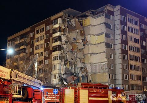 Обрушение жилого дома в Ижевске 9 ноября 2017: 5 человек погибли, причины трагедии, видео – момент взрыва