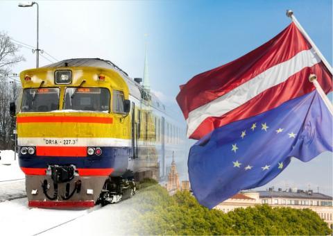 LSM: Латвии не по карману новые поезда, придётся ездить на советских