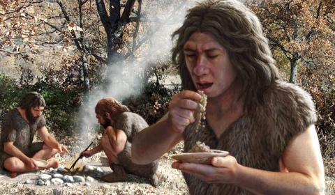 пища древних людей картинки
