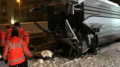 В Швейцарии разбился автобус с россиянами: стало известно о состоянии пострадавших