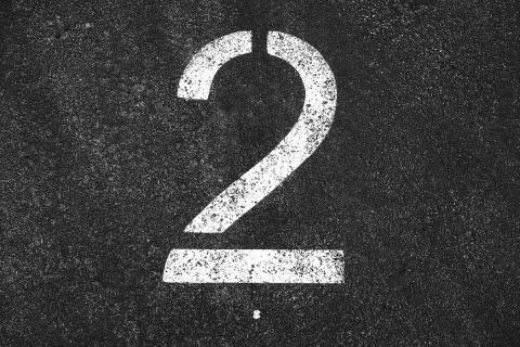 Цифра 2 картинка
