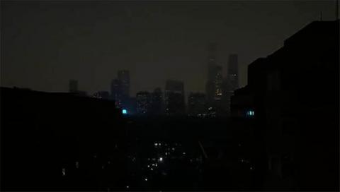 Необычная тьма над Пекином