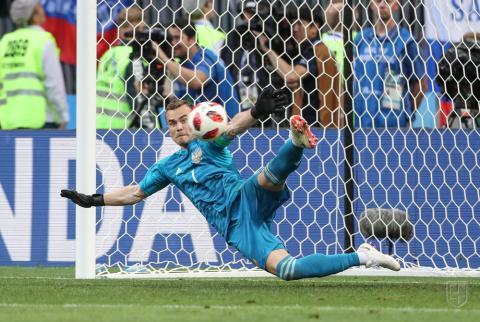 Чемпионат мира по футболу - 2018: результаты матчей Испания - Россия и Хорватия - Дания, расписание игр плей-офф, турнирная таблица
