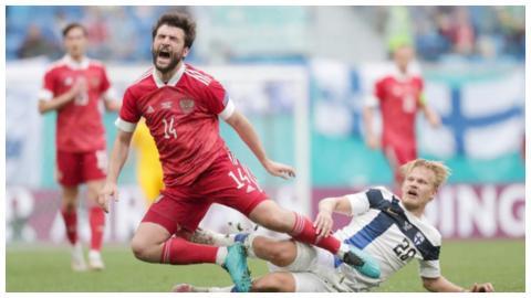 Россия Финляндия матч Евро 2020