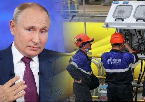 Путин указал на фиаско ЕС с ценами на газ в $650