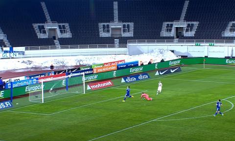 Гол в ворота Дании на Евро-2020