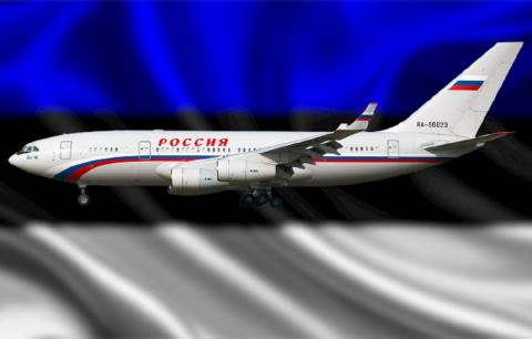 В Эстонии обвинили российский Ил-96 в нарушении воздушной границы республики