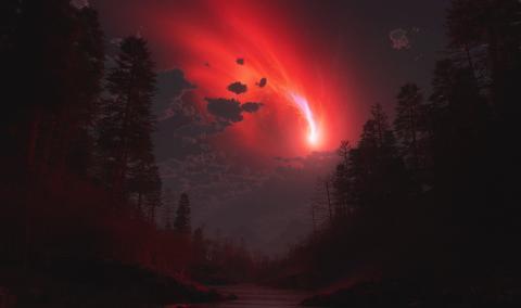 Таинственный объект в небе Ставрополья, распавшийся на части, разоблачен