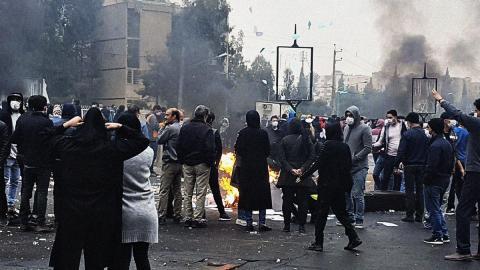 Акция протеста в Иране
