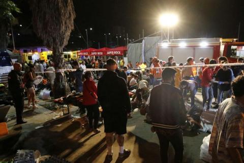 В Испании растёт число пострадавших из-за обрушения платформы во время концерта