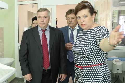 Василий Голубев и Татьяна Быковская