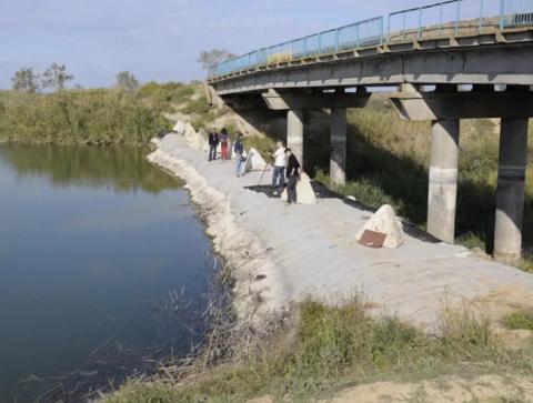 Северо-Крымский канал на Украине