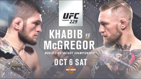 Турнир UFC 229 в Лас-Вегасе 6-7 октября 2018: полный кард - все участники, бои Нурмагомедов - Макгрегор, Фергюсон - Петтис, Волков - Льюис, прямая трансляция
