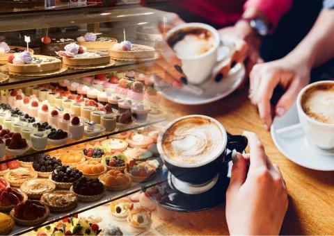кофе и сладости