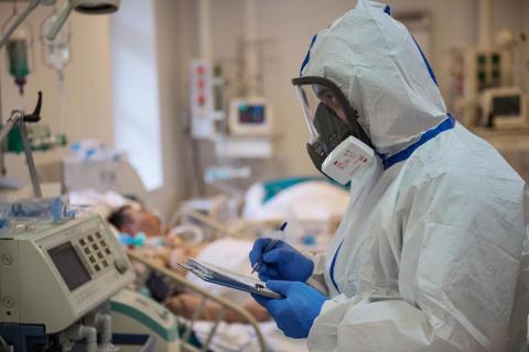 коронавирус больница Россия