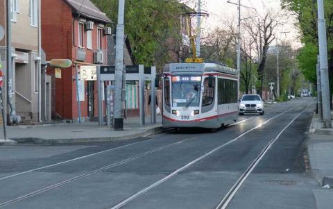 Трамвай в Краснодаре