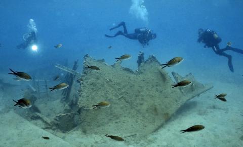 У берегов Крита археологи нашли неопознанные структуры под морским дном