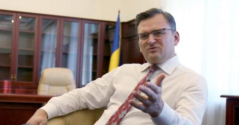 Кулеба Украина сидит