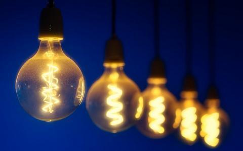 Включенные лампочки