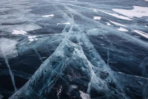 Тайну гигантских ледовых колец Байкала раскрыли ученые