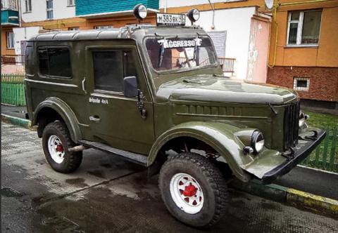Мнение американцев о русском «джипе» ГАЗ-69