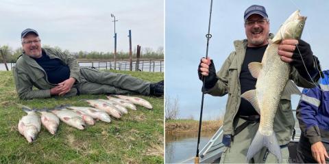 Телеведущий Алексей Лысенков побывал порыбачить в Астрахань