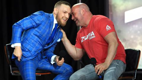 Президент UFC рассказал, когда Макгрегор проведет бой с Нурмагомедовым