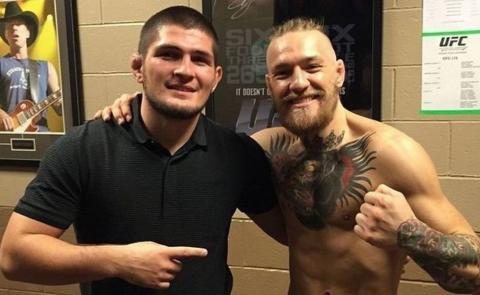 UFC презентовали  официальный постер к бою Нурмагомедов - Макгрегор