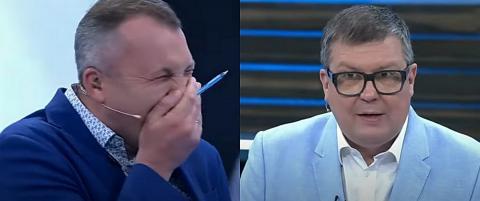 Евгений Попов и Алексей Мартынов