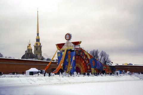 Масленица в Санкт-Петербурге 2018
