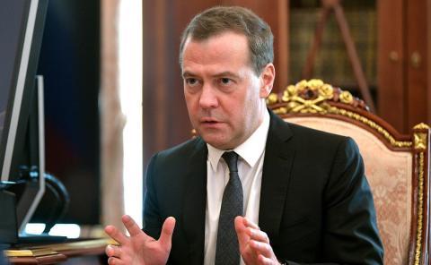 Медведев прокомментировал решение WADA