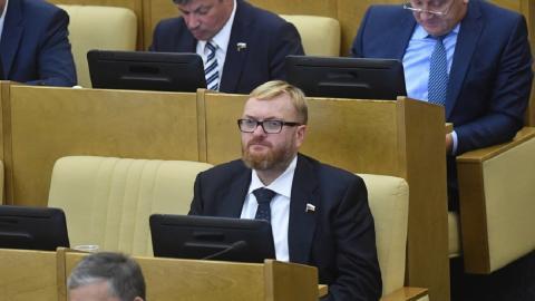 Милонов призвал опубликовать имена всех завербованных США российских журналистов