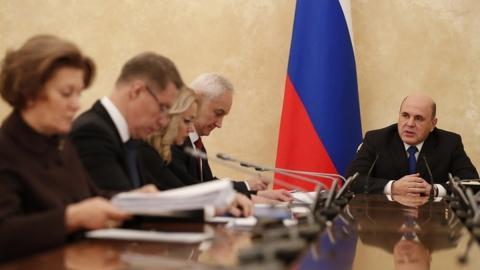Михаил Мишустин на заседании Координационного совета по коронавирусу