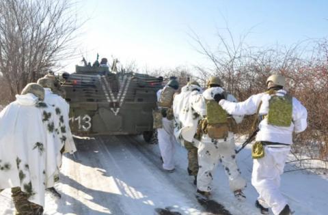 Морпехи ВСУ несут потери в Донбассе
