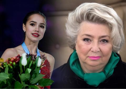 Татьяна Тарасова: «Еще в прошлом году сказала, что Загитова больше не выйдет на соревнования никогда. И по сей день мне так кажется»